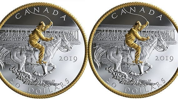 New silver coin issued to commemorate Victory Stampede of 1919