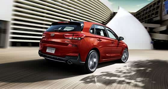 My test Hyundai Elantra GT N Line Ultimate version has a turbocharged 1.6-litre engine. This is a lively automobile, with gobs of takeoff and excellent reserve power. The N Line GT is an attractively styled hatchback and very European looking