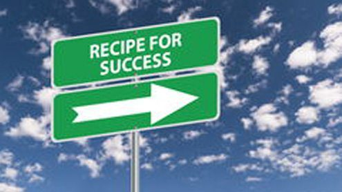Write down and share your recipe for success