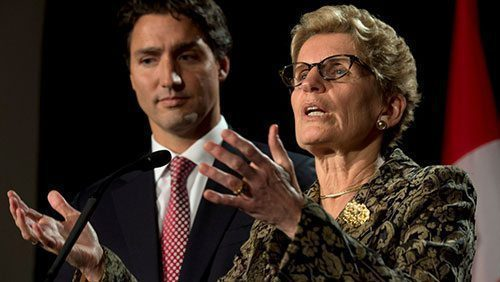 Trudeau can pull Wynne to victory in Ontario