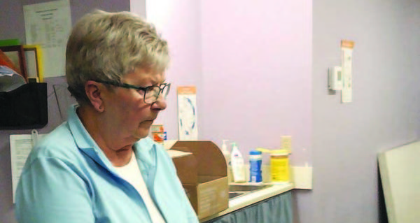 Keeping the local food bank running smoothly
