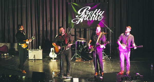 Pretty Archie performs in Kindersley