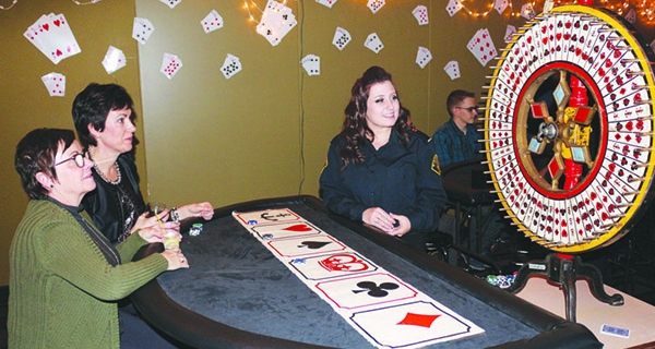 Club holds annual charity casino