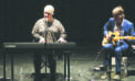 Dynamic duo on stage in Kindersley