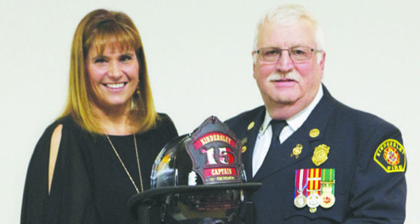 Firefighters honour colleagues at ball