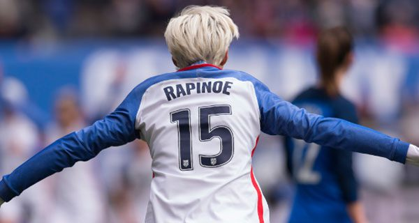 Rapinoe's quest for'justice for all' is quintessentially American