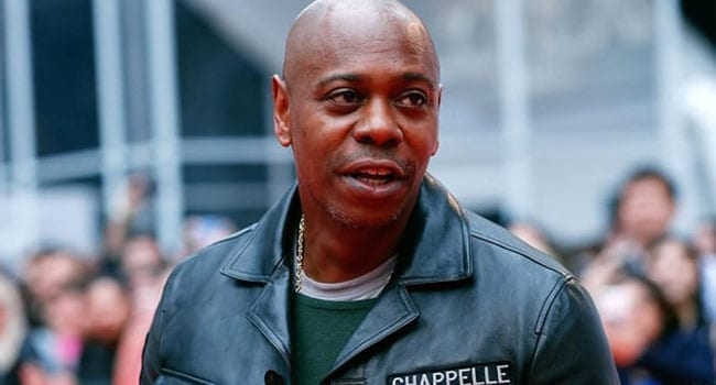 Dave Chappelle leans left but still makes the right laugh
