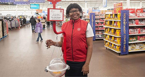 Salvation Army Kettle Campaign $5 million behind goal this year