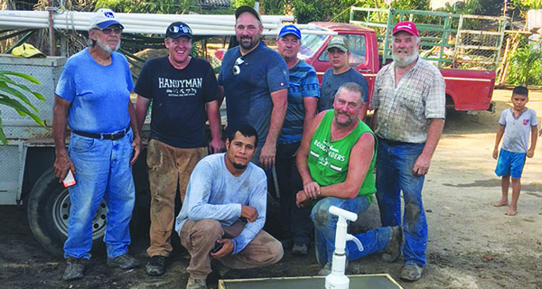 AGUA Team in Mexico makes life better for locals