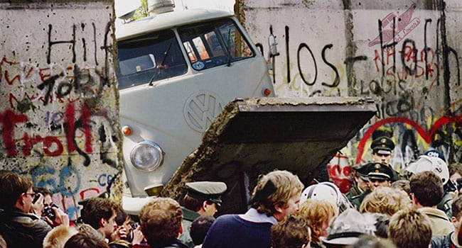 Fall of the Berlin Wall was just a starting point