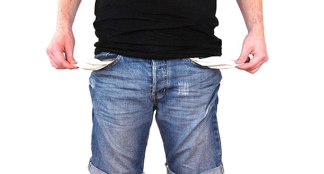 Third of Canadians face some degree of financial stage fright